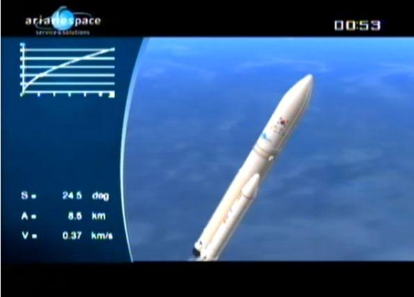 Ariane 5 ECA V195 : Arabsat 5A + COMS 1 (26/06/2010) - Page 11 Capt_101