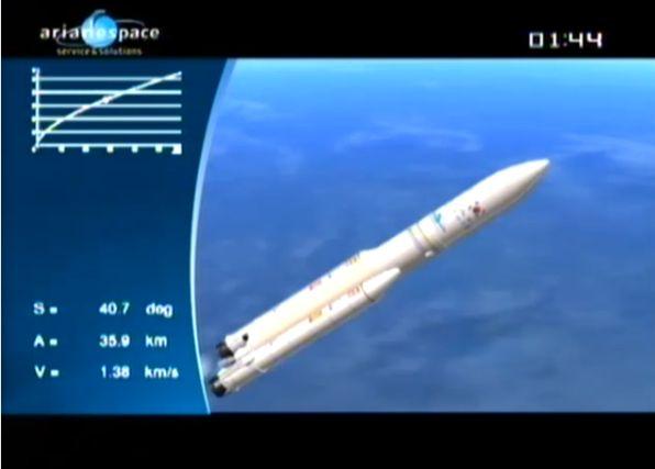Ariane 5 ECA V195 : Arabsat 5A + COMS 1 (26/06/2010) - Page 11 Capt_103