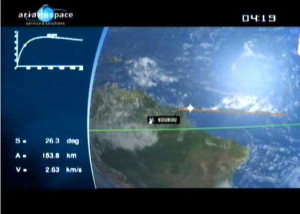 Ariane 5 ECA V195 : Arabsat 5A + COMS 1 (26/06/2010) - Page 11 Capt_106