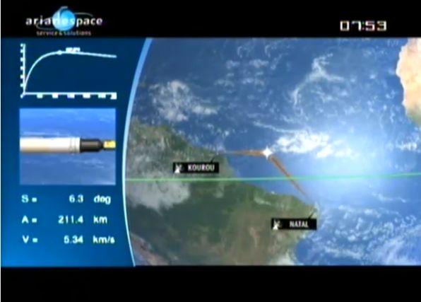 Ariane 5 ECA V195 : Arabsat 5A + COMS 1 (26/06/2010) - Page 11 Capt_109