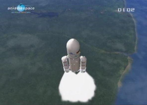 Ariane 5 ECA V194 / Astra-3B & ComsatBW-2 (21/05/2010) - Page 17 Capt_140