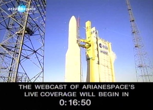 Ariane 5 ECA V195 : Arabsat 5A + COMS 1 (26/06/2010) - Page 4 Capt_167