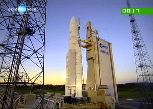 Ariane 5 ECA V195 : Arabsat 5A + COMS 1 (26/06/2010) - Page 5 Capt_169
