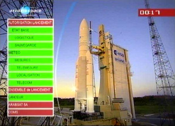 Ariane 5 ECA V195 : Arabsat 5A + COMS 1 (26/06/2010) - Page 5 Capt_170