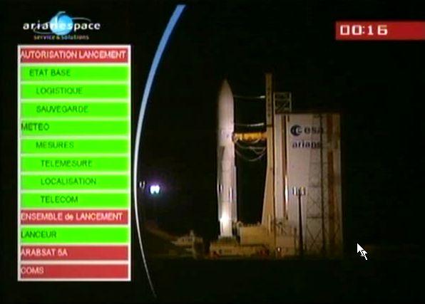 Ariane 5 ECA V195 : Arabsat 5A + COMS 1 (26/06/2010) - Page 8 Capt_177