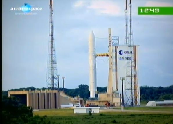 Ariane 5 ECA V195 : Arabsat 5A + COMS 1 (26/06/2010) - Page 11 Capt_183