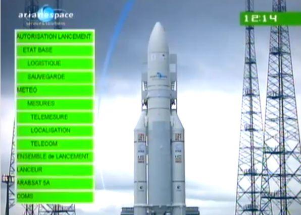 Ariane 5 ECA V195 : Arabsat 5A + COMS 1 (26/06/2010) - Page 11 Capt_185