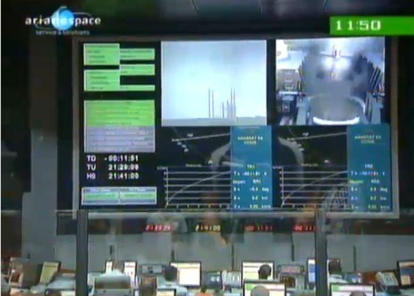 Ariane 5 ECA V195 : Arabsat 5A + COMS 1 (26/06/2010) - Page 11 Capt_186
