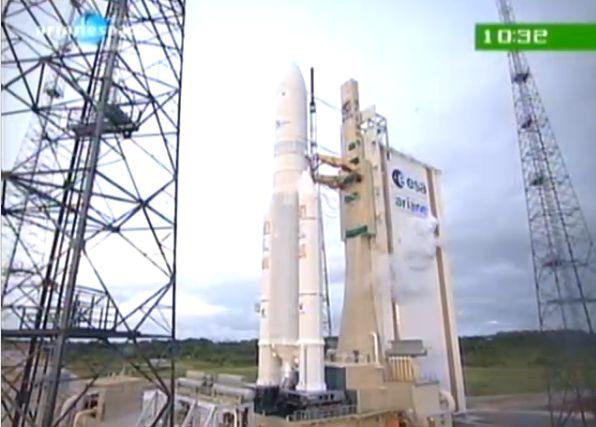 Ariane 5 ECA V195 : Arabsat 5A + COMS 1 (26/06/2010) - Page 11 Capt_187