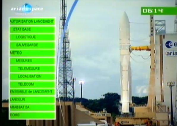Ariane 5 ECA V195 : Arabsat 5A + COMS 1 (26/06/2010) - Page 11 Capt_189