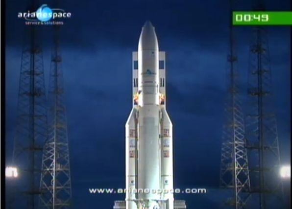Ariane 5 ECA V195 : Arabsat 5A + COMS 1 (26/06/2010) - Page 11 Capt_190
