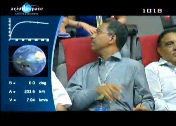 Ariane 5 ECA V195 : Arabsat 5A + COMS 1 (26/06/2010) - Page 11 Capt_203