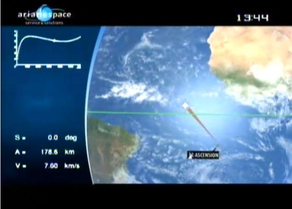 Ariane 5 ECA V195 : Arabsat 5A + COMS 1 (26/06/2010) - Page 11 Capt_204