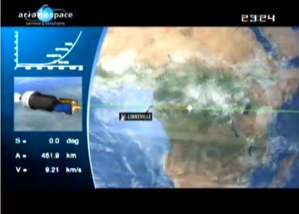 Ariane 5 ECA V195 : Arabsat 5A + COMS 1 (26/06/2010) - Page 11 Capt_205