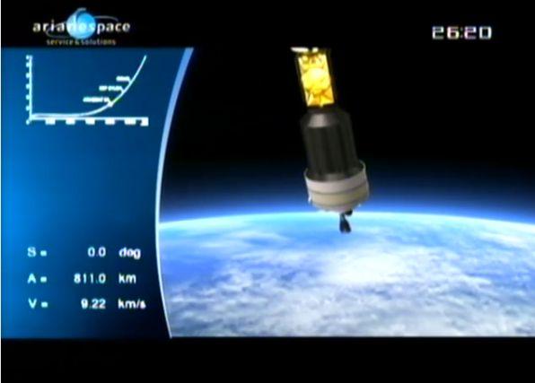 Ariane 5 ECA V195 : Arabsat 5A + COMS 1 (26/06/2010) - Page 11 Capt_207