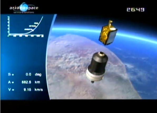 Ariane 5 ECA V195 : Arabsat 5A + COMS 1 (26/06/2010) - Page 11 Capt_208