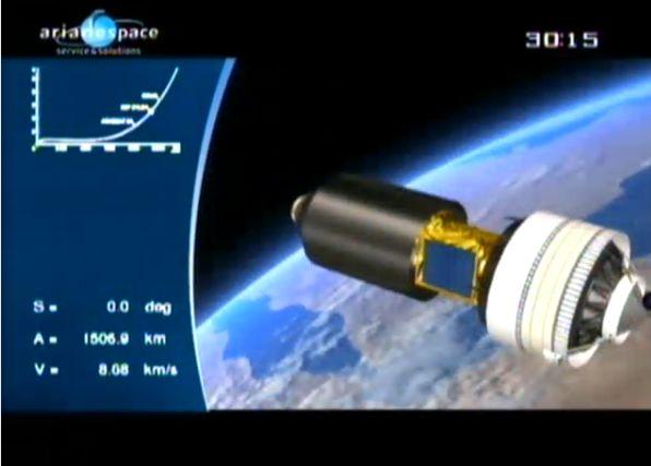 Ariane 5 ECA V195 : Arabsat 5A + COMS 1 (26/06/2010) - Page 11 Capt_212