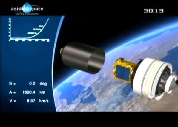 Ariane 5 ECA V195 : Arabsat 5A + COMS 1 (26/06/2010) - Page 11 Capt_213