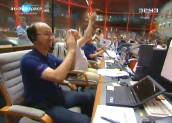 Ariane 5 ECA V195 : Arabsat 5A + COMS 1 (26/06/2010) - Page 11 Capt_215
