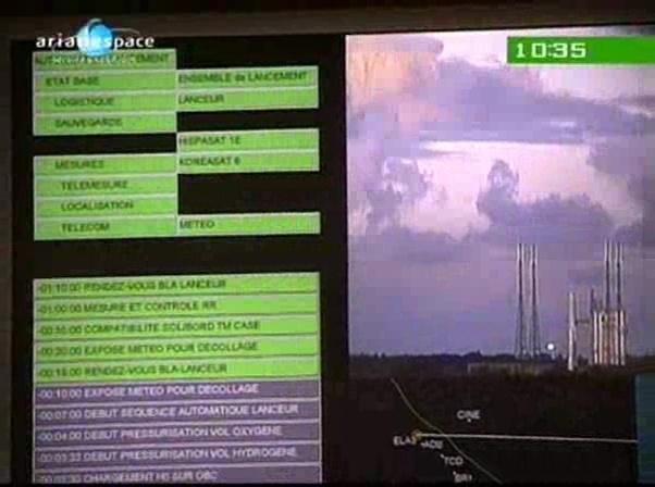 Ariane 5 V199 (Hispasat-1E + Koreasat 6) - 28.12.2010 - Page 2 Vlcsn105