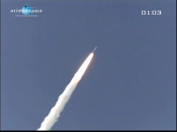Ariane 5 ECA V198 / Hylas 1 + Intelsat 17 (26/11/2010) - Page 2 Vlcsn428