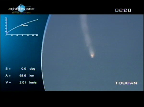 Ariane 5 ECA V198 / Hylas 1 + Intelsat 17 (26/11/2010) - Page 2 Vlcsn433