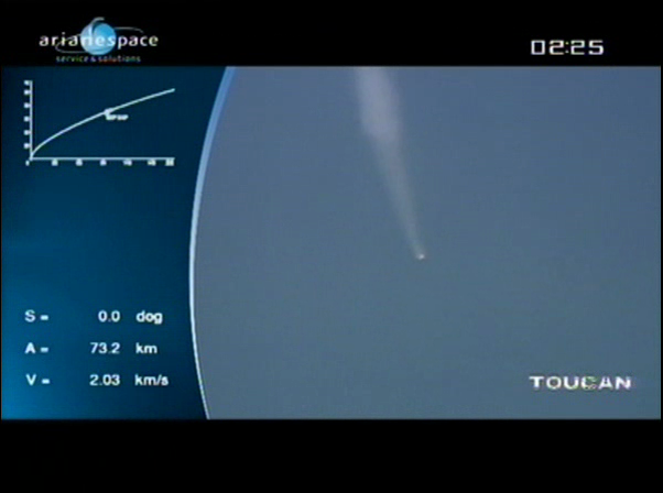 Ariane 5 ECA V198 / Hylas 1 + Intelsat 17 (26/11/2010) - Page 2 Vlcsn434