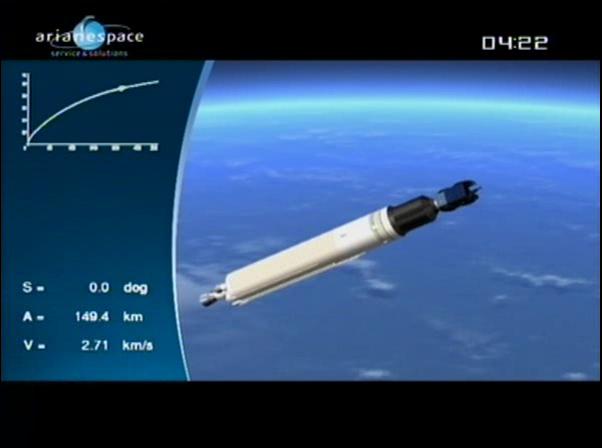 Ariane 5 ECA V198 / Hylas 1 + Intelsat 17 (26/11/2010) - Page 2 Vlcsn439