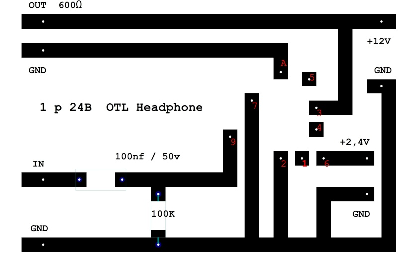 1p24b headphone amp OTL 1pb24_13