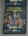 West & East German Pottery Marks, Form Numbers & Decors Vol III by Kevin James Graham Wgp_ma10