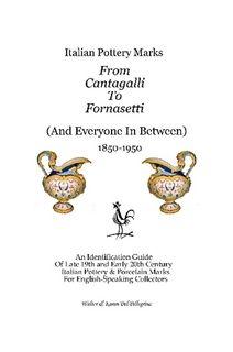 Italian Pottery Marks by Walter Del Pellegrino Walter10