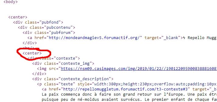 Page HTML qui ne s'affiche pas dans un message Demo10