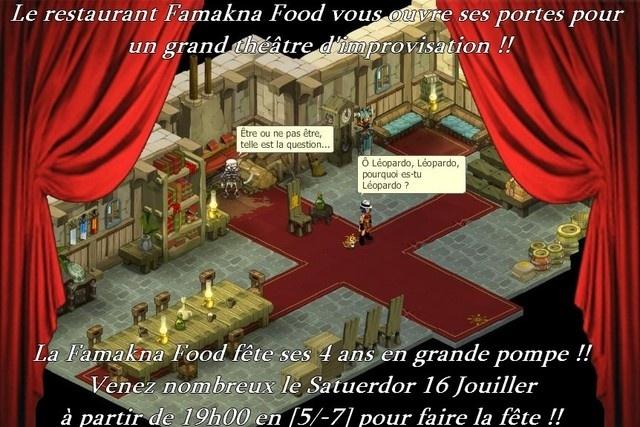 Fermeture du Restaurant Famakna Food 1710
