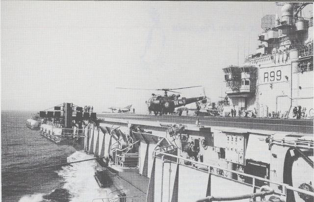 [Aéronavale divers] Alouette 3 - Page 3 Foch10