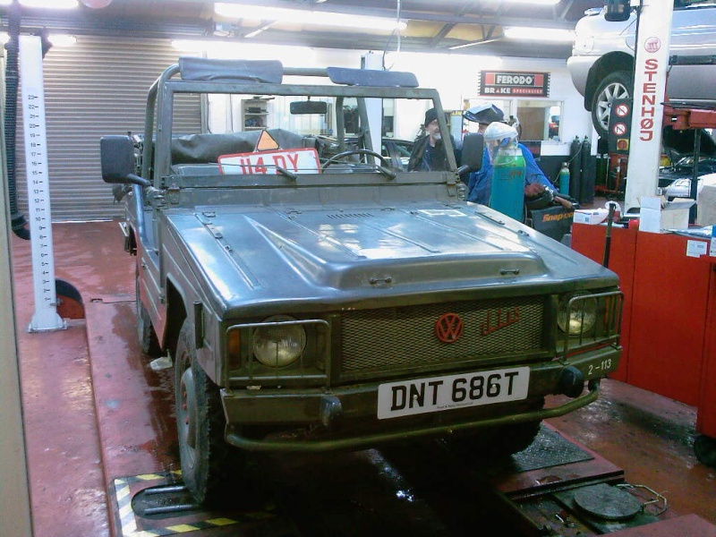 V.W. ILTIS 4X4 IN FOR MOT THE OTHER DAY Photo-17