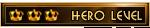 Hero level (8)