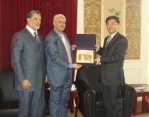 وفد من المجموعة البرلمانية في زيارة إلى سفارة الصين الشعبية بالجزائر Chine10