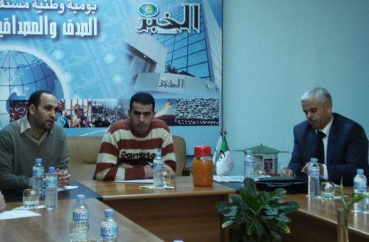 رئيس الكتلة يشارك في ندوة الخبر حول مشروع قانون تجريم الاستعمار Resiz104