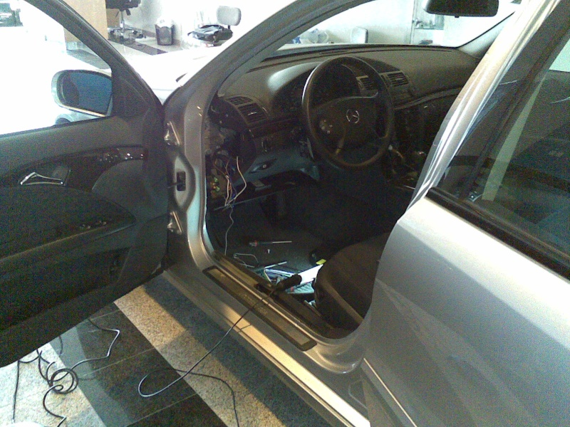 Mercedes Classe E CDI / Projecto 5.1 DTS, Dolby Pro-Logic II 21012020