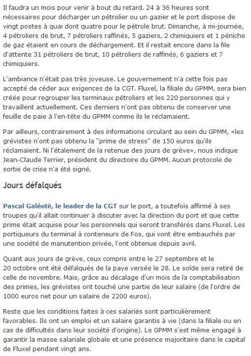 CONFLIT PORTUAIRE/ DOMMAGES COLLATERAUX  Sans_t20