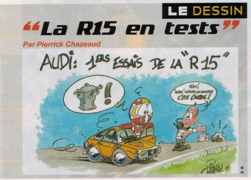 """[compétition] """"La R15 en test"""" Audir110"""
