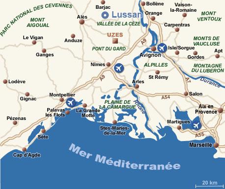 La Tour Fénestrelle (Uzès, Gard) Plan_l10