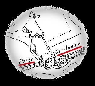 La Porte Guillaume (Dijon, Côte d'Or) Zoom-g10