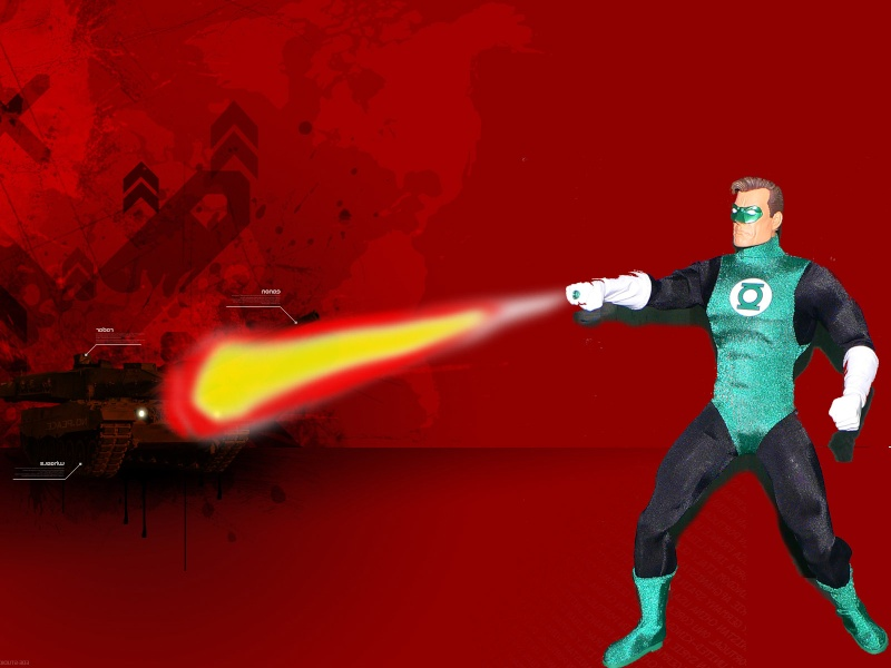 DC DIRECT: GREEN LANTERN & BATMAN + ICONS: SILVER SURFER Green_14