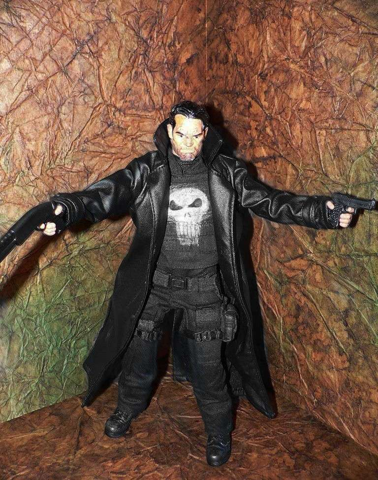 PUNISHER CUSTOM 1/6 12 inch, 30 cm Punish12