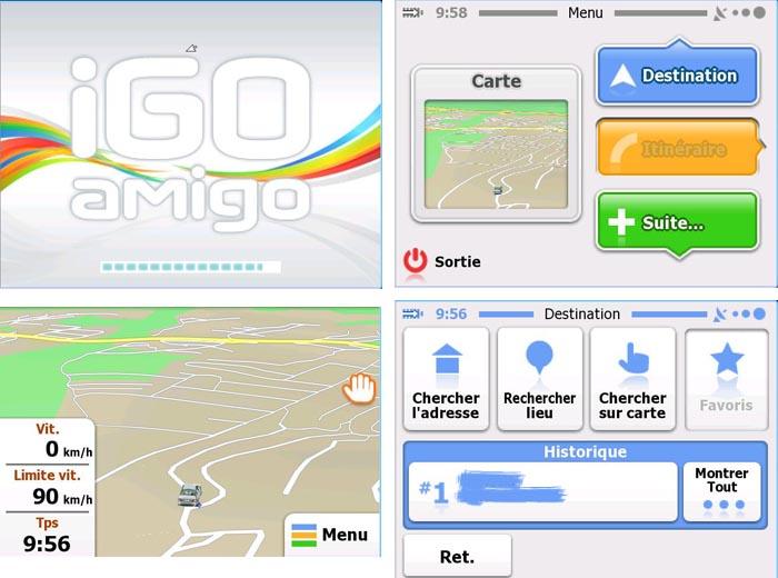 Igo AMIGO dispo et opérationel sur diamond Amigo11