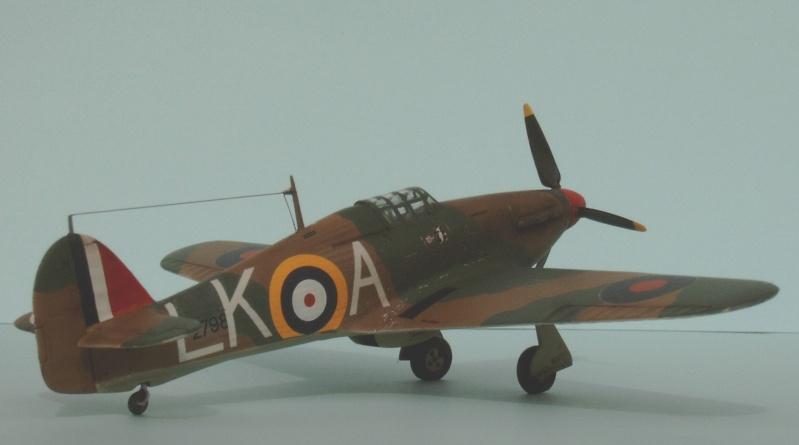 [airfix] Hawker hurricane MKI Hurric17