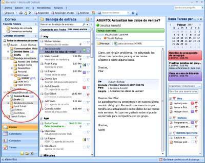 Revisa tu cuenta de Hotmail desde Outlook Outloo10