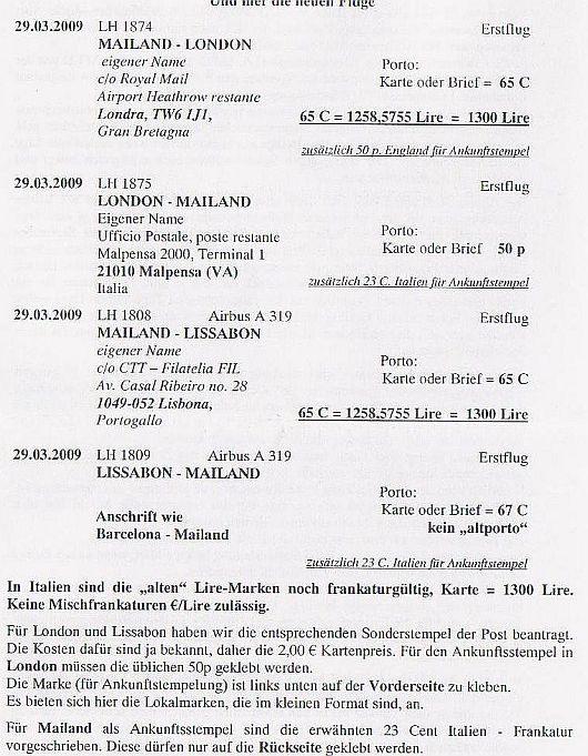 Erstflüge, Sonderflüge und neue Ballonpost - Seite 5 Forum111