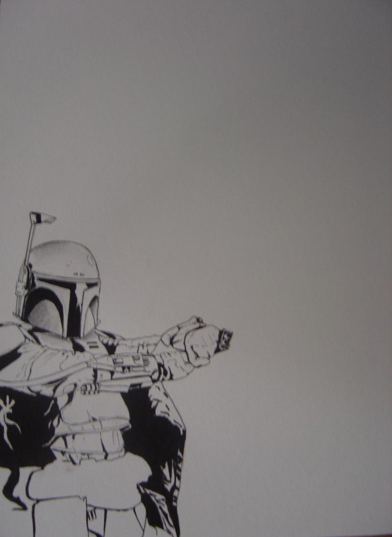 Ma premiere peinture acrylique . Dsc00810